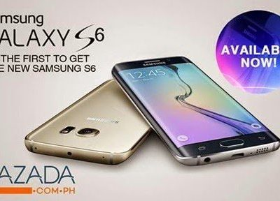 SPOTTED ON LAZADA: Samsung S6 now available at Lazada.com.ph!