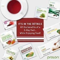 New Year, New You With Prolon Fasting Mimicking Diet