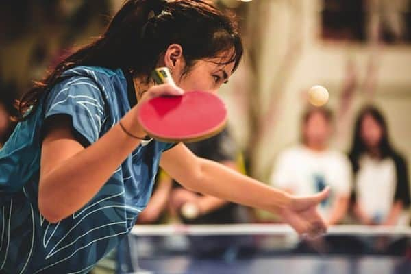 play table tennis be fit inside your home